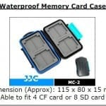 Essential Studio Equipment : Waterproof Memory Card Case