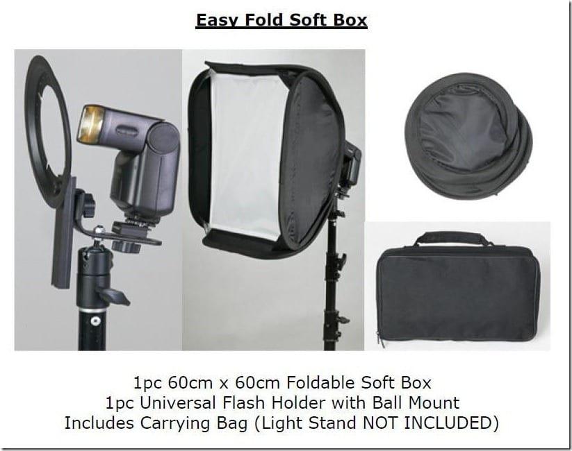 foldable softbox