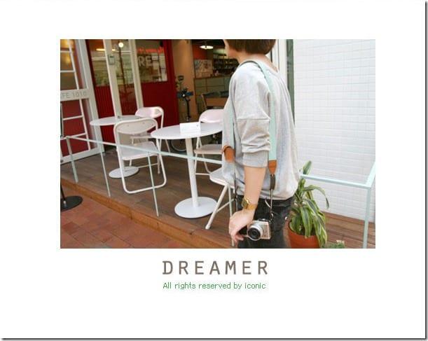 Iconic Dreamer Camera Strap 12