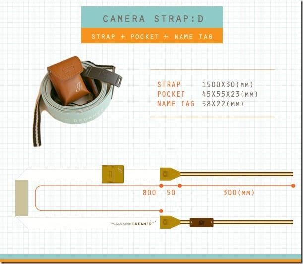 Iconic Dreamer Camera Strap 4