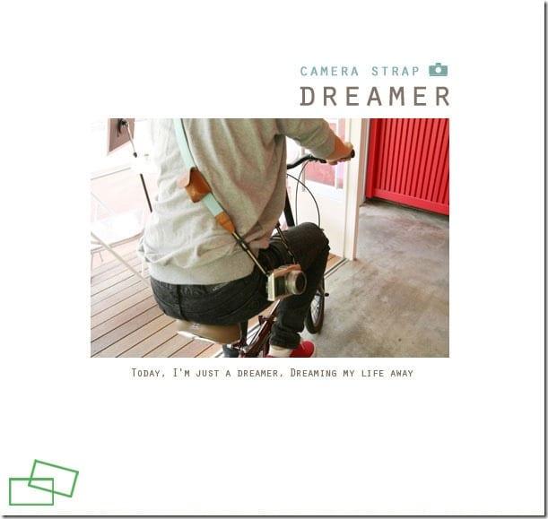 Iconic Dreamer Camera Strap 7