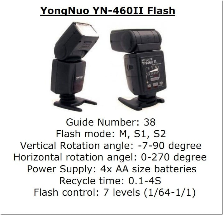 yongnuo yn-460 II