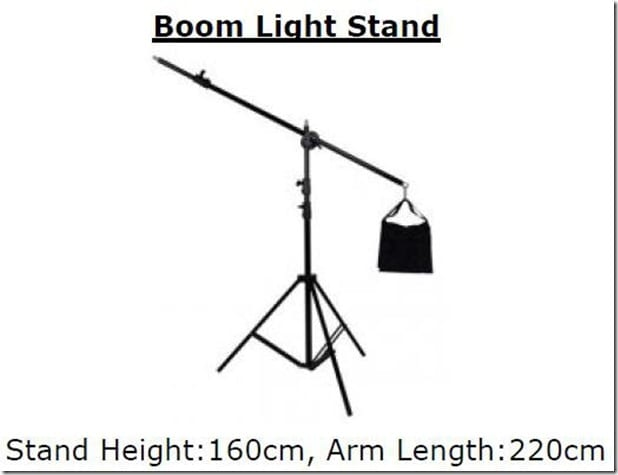 boom arm stand