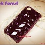 Iphone Fashionista : Handmade Iphone Fashion Casings ~ Black Forest