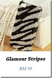 Glamour Stripes4 iPhone Fashionista