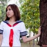 Pop Shoot : Japanese Schoolgirl ~ Kyan Seah