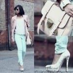 Fashionista NOW: How To Color Block With Soft Pastel Colors?