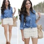 Fashionista NOW: Crochet Shorts Style Inspiration