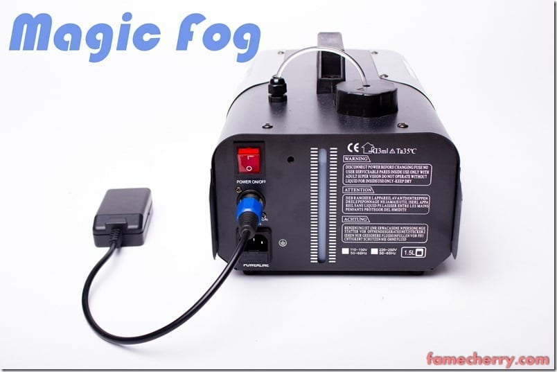 MG 4203 Essential Studio Equipment : Magic Fog, 1000W Remote Controlled Fog Machine