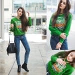 Fashionista NOW: Fresh & Casual With A Pop Of Green