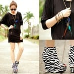 Fashionista NOW: Zebra Prints ~ Animal Print Fashion Inspiration