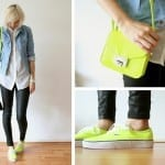 Fashionista NOW: Neon Yellow Color Trend