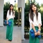 Fashionista NOW: Trendy In Palazzo Pants For Hari Raya 2013