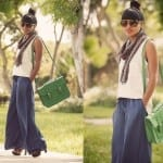 Fashionista NOW: How To Turn An Old Skirt Into Palazzo Pants?