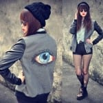 Fashionista NOW: Eerie But Quirky Fashion Trend ~ Eye Prints
