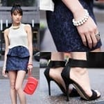Fashionista NOW: Trendy Footwear ~ Ankle Strap Shoe Trend
