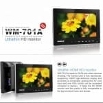 Video Equipment Malaysia : Wondlan WM-701A Ultrathin 7 Inch HD Monitor