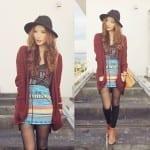 Fashionista NOW: Cozy Oversized Cardigan Fashion Inspiration