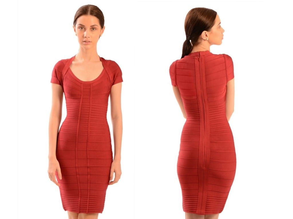 herve-leger-bailey-tube-knit-bandage-panel-dress
