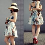 Fashionista NOW: Oriental Floral Chic For CNY 2014 Fashion Inspiration