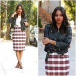 Fashionista NOW: Chic Tartan Skirts Fashion Inspiration