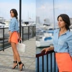 Fashionista NOW: Coral Chic Fashion Inspiration