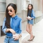 Fashionista NOW: Chic Patchwork Denim Fashion Inspiration