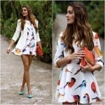 Fashionista NOW: Chic Bird Prints Fashion Inspiration