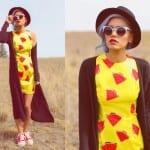Fashionista NOW: Bold Fruit Prints Fashion Inspiration