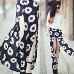 Fashionista NOW: High Slit Maxi Skirts Fashion Inspiration