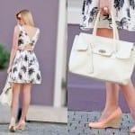 Fashionista NOW: Black & White Palm Tree Prints Fashion Inspiration