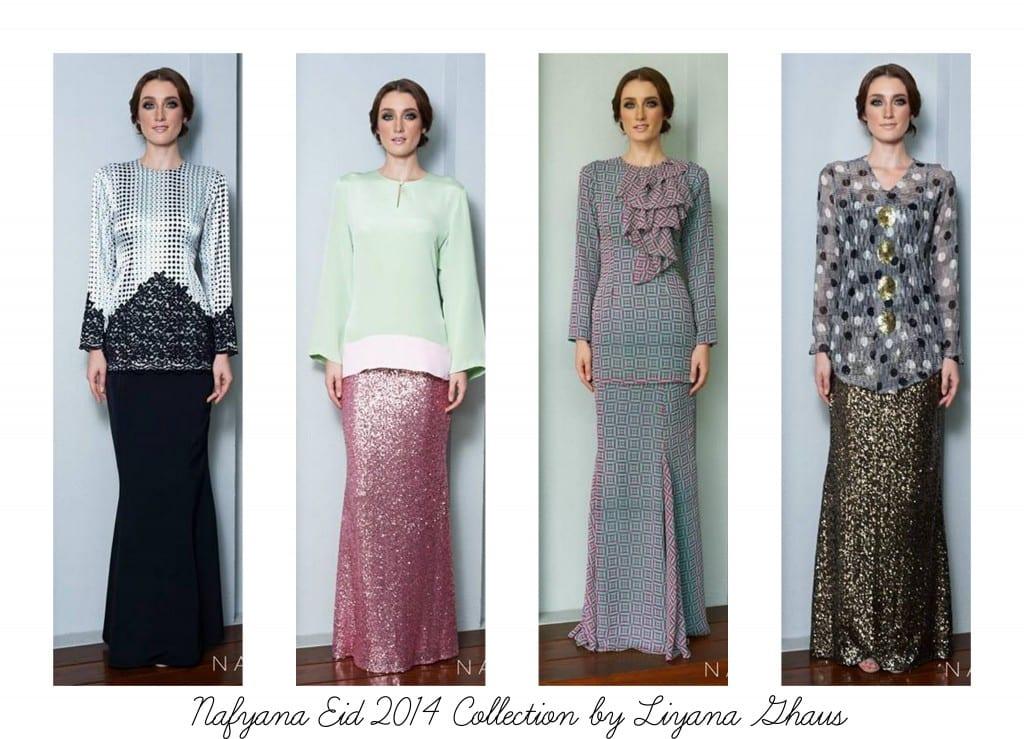 Nafyana Eid 2014 Collection by Liyana Ghaus
