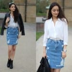 Fashionista NOW: How To Wear Denim Skirts Fashion Inspiration