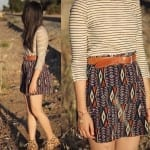 Fashionista NOW: Neo-Ethnic Earthy Tribal Skirt Fashion Inspiration