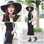 Fashionista NOW: Black Culottes Fashion Inspiration