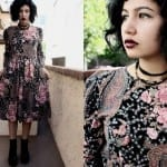 Fashionista NOW: 6 Hypnotizing Ways To Wear Dark Floral Prints Fashion Inspiration
