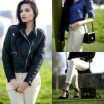 Fashionista NOW: 5 Fresh Ways To Wear Black Biker Jackets Fashion Inspiration