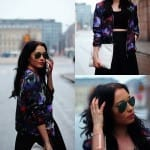 Fashionista NOW: Floral Bomber Jackets Fashion Inspiration