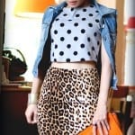 Fashionista NOW: How To Wear Leopard Skirts Fashion Inspiration