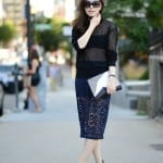 Fashionista NOW: Black Mesh Fashion Inspiration