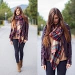 Fashionista NOW: How To Wear Tartan Scarves Fashion Inspiration