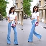 Fashionista NOW: 7 Chic Ways To Wear Flared Jeans Fashion Inspiration