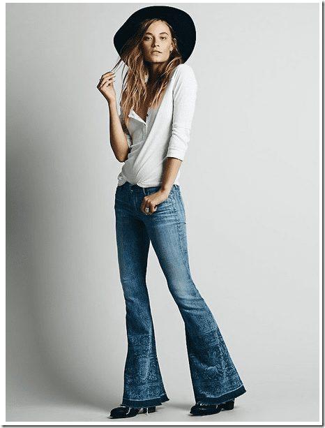 flared-jeans-subtle-print
