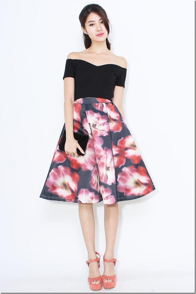 watercolor-red-midi-skirt