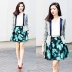 Fashionista NOW: How To Wear Teal Fashion Inspiration