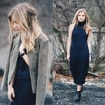 Fashionista NOW: How To Style Black Dress Casual Fashion Inspiration