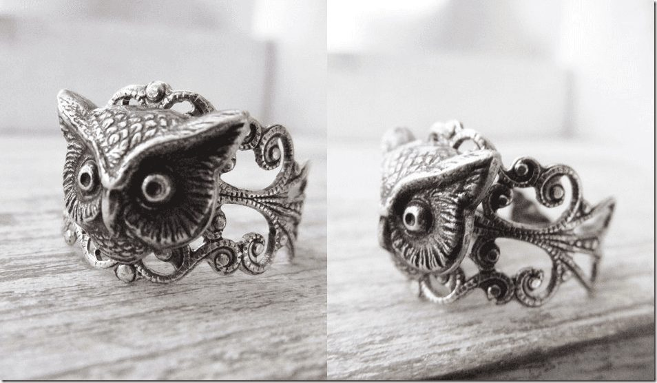 adjustable-antique-silver-owl-ring