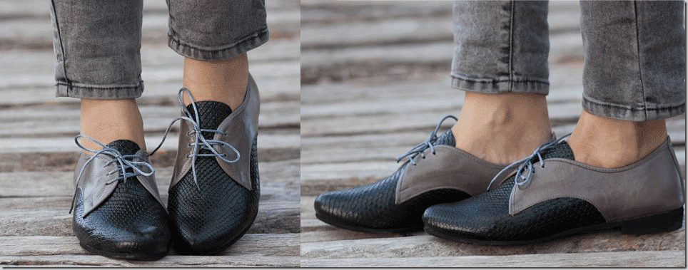 black-grey-leather-oxford-shoes