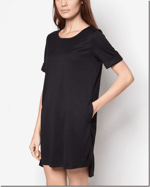 black-tshirt-dress