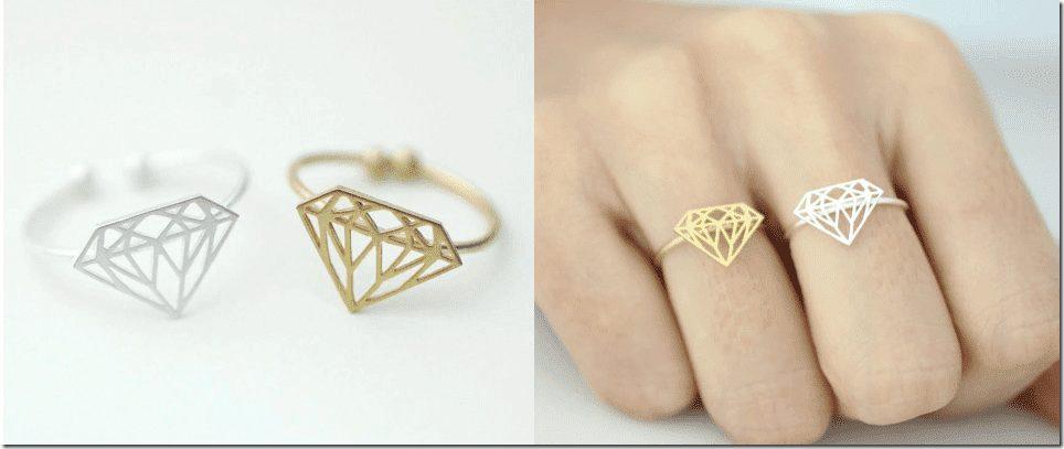 diamond-shape-adjustable-ring